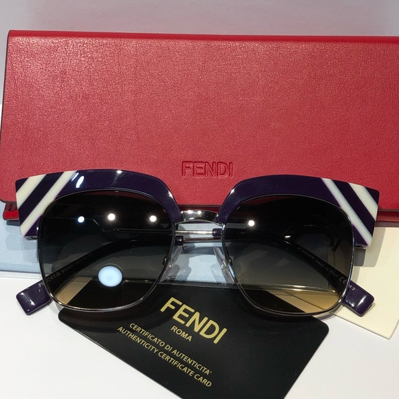 1cfe62fcf05 NWT FENDI Made In Italy Designer Sunglasses